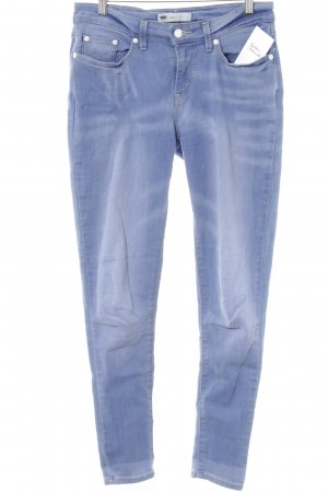 Levi's Stretch Jeans himmelblau Casual-Look