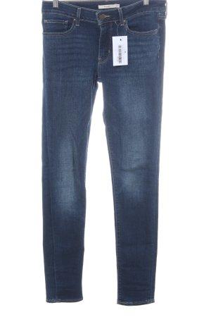 Levi's Stretchhose dunkelblau Jeans-Optik