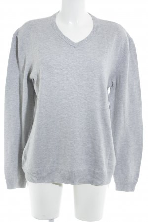 Levi's Strickpullover hellgrau meliert Casual-Look