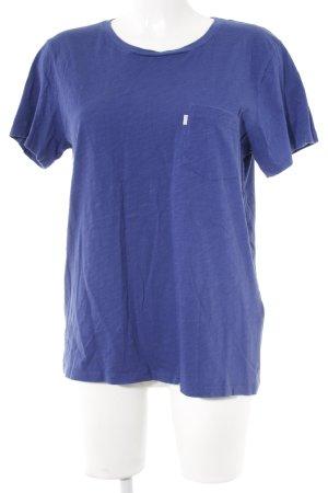 Levi's T-Shirt blau Casual-Look