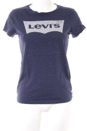 Levi's T-Shirt dunkelblau sportlicher Stil