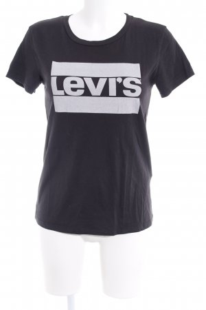 Levi's T-Shirt dunkelgrau Motivdruck Casual-Look