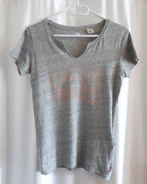 LEVI'S T Shirt Grau Größe  34 36 XS