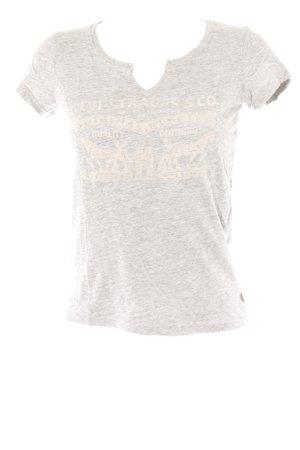 Levi's T-Shirt grau-hellgrau sportlicher Stil