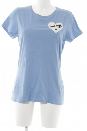 Levi's T-Shirt azure themed print casual look