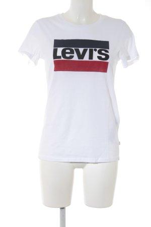 Levi's T-Shirt mehrfarbig sportlicher Stil