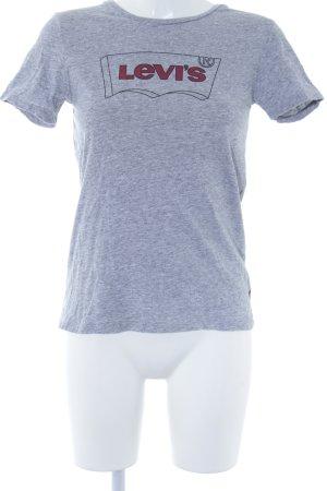 Levi's T-Shirt platzierter Druck Casual-Look