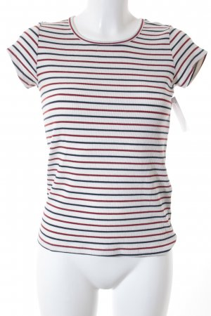 Levi's T-Shirt Streifenmuster Casual-Look