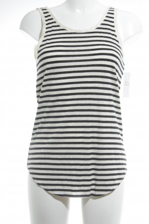 Levi's Tank Top black-natural white striped pattern casual look