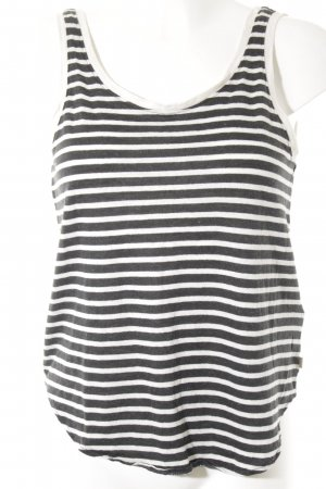 Levi's Strappy Top natural white-anthracite striped pattern casual look