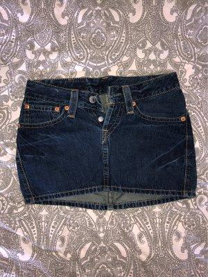 Levi's Denim Skirt dark blue
