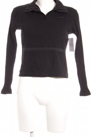 Levi's V-Ausschnitt-Pullover schwarz Casual-Look