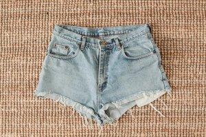 Levi's Denim Shorts multicolored cotton