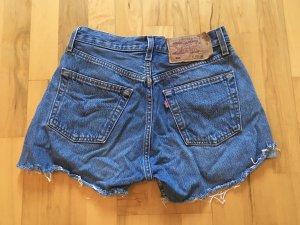 Levi's Pantaloncino di jeans blu