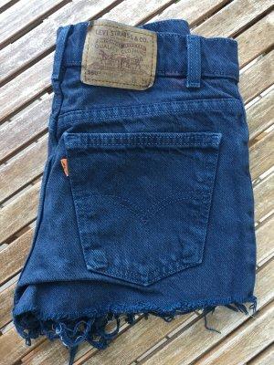 Levi's Pantalón corto de tela vaquera azul-azul oscuro