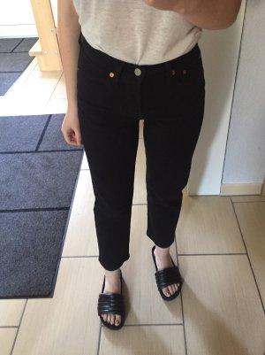 Levi's Wedgie Straight Jeans 25 schwarz