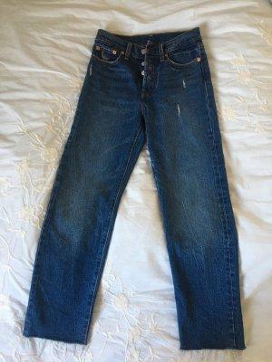 Levi's Wedgie straight leg, cropped Jeans - NEU