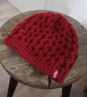 Levi's Woolen Hat dark red