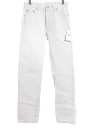 Levi Strauss Boot Cut Jeans wollweiß 90ies-Stil