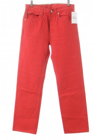 Levi Strauss High-Waist Hose rot Casual-Look