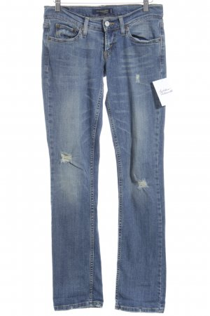 Levi Strauss Low Rise jeans lichtblauw-leigrijs ontspannen stijl