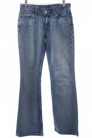 Levi's Jeansschlaghose hellblau Casual-Look