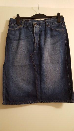Levi Strauss, Levi's Jeansrock, Side Slit Skirt, dunkelblau, Gr. L