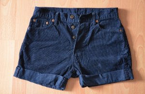 Levi Strauss/Levis Hotpants/ Cord Shorts/ Jeans Dunkelblau Gr. 38