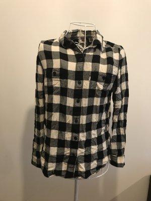 Levi's Houthakkershemd zwart-wit