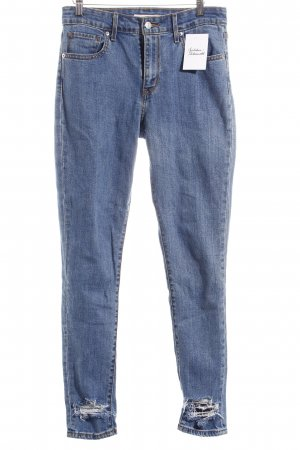 "Levi Strauss Skinny Jeans ""High Rise Skinny"" blau"