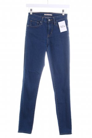"Levi Strauss Skinny Jeans ""High Rise Skinny"" dunkelblau"