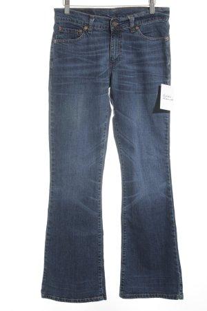 Levi Strauss Straight-Leg Jeans blau schlichter Stil