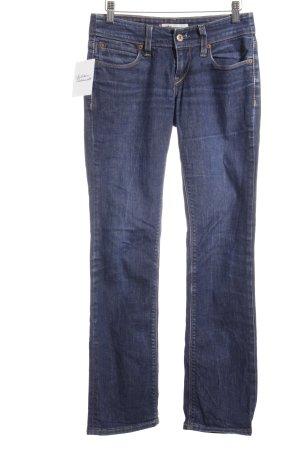 Levi Strauss Straight-Leg Jeans dunkelblau Casual-Look