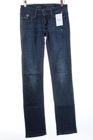 "Levi Strauss Straight-Leg Jeans ""Slight Curve Straight Leg"" dunkelblau"