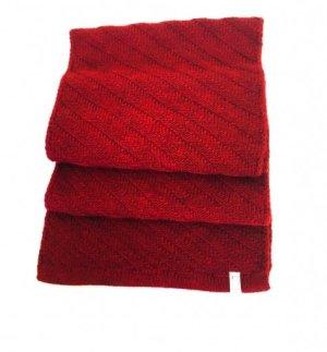 Levi's Wollen sjaal bordeaux