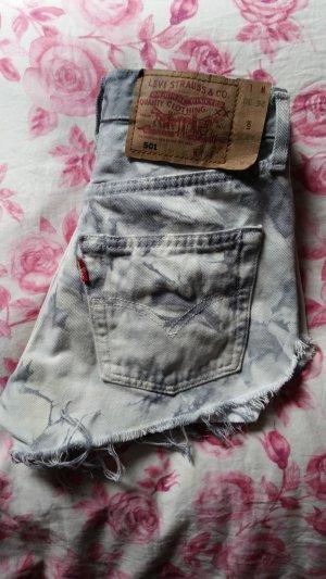 levis 501 batik jeans shorts xs