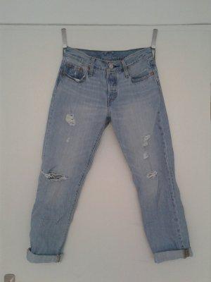 Levi's Jeans boyfriend multicolore coton