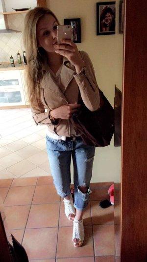 Levi's Jeans boyfriend multicolore Cotone