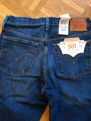 Levi's Hoge taille jeans azuur