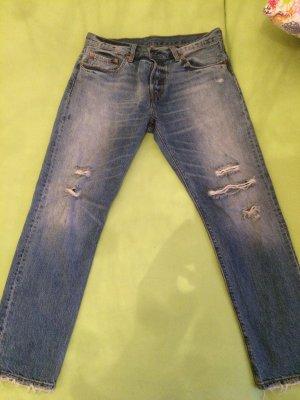 Levis 501 CT Boyfriend Jeans <3