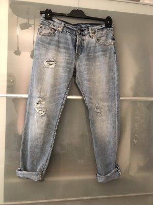 Levi's Boyfriend jeans lichtblauw