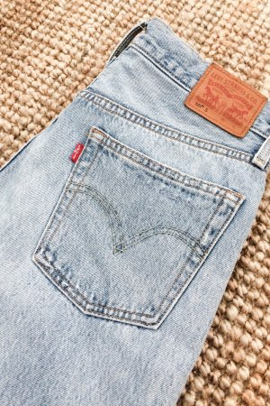 Levis 501 Gr. 28/30 (ca. 38) High Waisted Jeans im Vintage Look / NP 119€