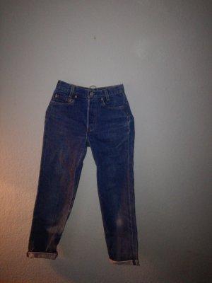 Levis 501 high waist mum jeans