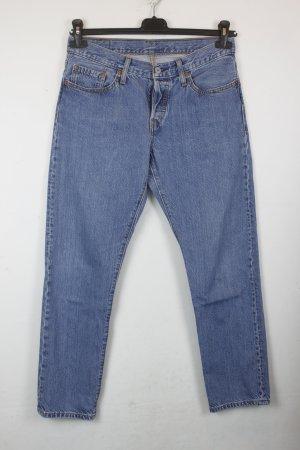 Levis 501 Hose Jeans Gr. 28 blau (18/&/408)