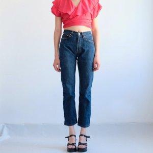 levis 501 jeans denim mittelblau W27 XS 34