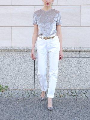 Levi's Jeans met rechte pijpen wit Katoen