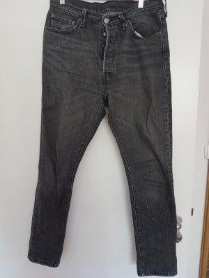 Levis 501 skinny Farbe Black Coast
