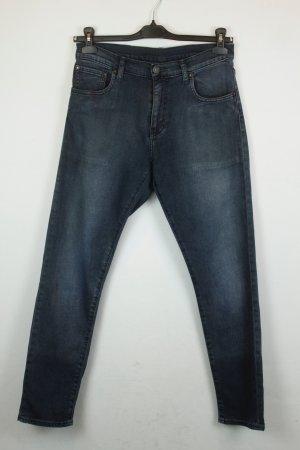 Levis 520 Jeans Slim Fit Gr. 30 schwarz blau
