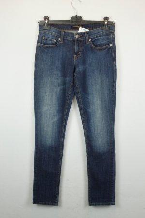 Levis 524 Jeans Too Superlow Gr. 27 blau
