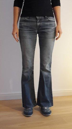Levis 544 Jeans in blau W27 / L32 mit Schlag